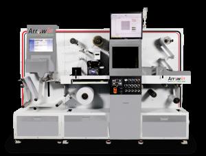 Inkjet Label Printer with Inline Laser Cutter